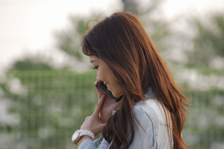 [韩国美女] 李恩慧 《街拍牛仔卦+花色连衣裙》写真集