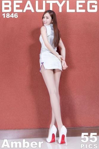 腿模Amber《旗袍+短裙制服美腿》 [Beautyleg] No.1846 写真集