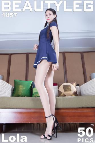腿模Lola《学生短裙+OL美腿》 [Beautyleg] No.1857 写真集