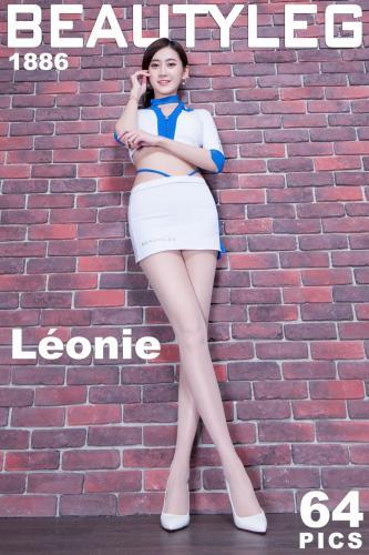 腿模Leonie《肉丝袜制服美腿》 [Beautyleg] No.1886 写真集