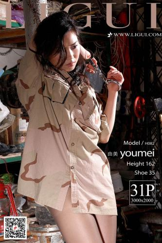 Model 由美《镣铐绳芤捆绑》 [丽柜美束Ligui] 写真集
