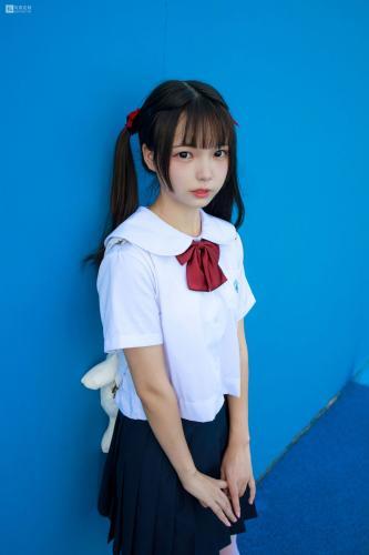 默陌《15D白丝 雪糕游乐园》 [森萝财团] JKFUN-026 写真集