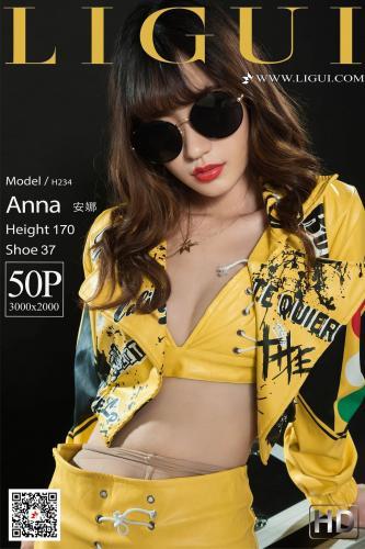 Model 安娜《致敬迈克尔杰克逊》 [丽柜Ligui] 写真集