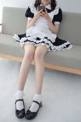 Aika《蕾丝花边短袜女仆》 [森萝财团] JKFUN-053 写真集
