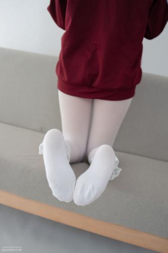 Aika《白丝套蕾丝花边短袜》 [森萝财团] JKFUN-058 写真集