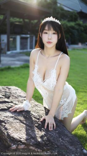 朱可儿Flower《室外草次镂空吊裙系列》 [美媛馆MyGirl] Vol.423 写真集