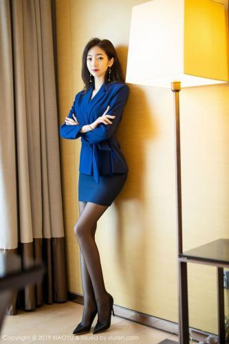 安琪Yee《黑丝OL职业装》 [语画界XIAOYU] Vol.203 写真集