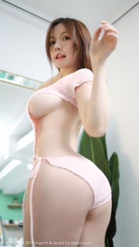 糯美子Mini《性感粉色内衣》 [美媛馆MyGirl] Vol.417 写真集