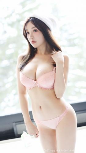 糯美子Mini《粉嫩内衣+粉油系列》 [美媛馆MyGirl] Vol.425 写真集