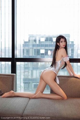 葛征Model《性感内衣与极致丝袜美腿诱惑》 [花漾HuaYang] Vol.205 写真集