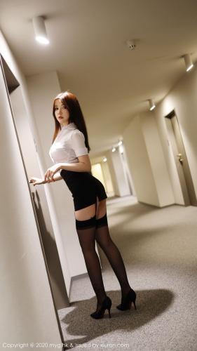 糯美子Mini《酒店秘书制服》 [美媛馆MyGirl] Vol.427 写真集