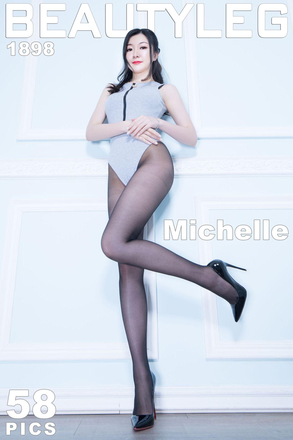 Michelle小羽《丝袜高跟美腿》 [Beautyleg] No.1898 写真集1