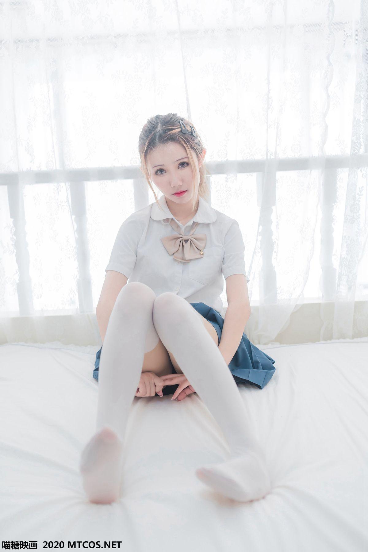 《白丝JK学妹》 [喵糖映画] VOL.121 写真集1