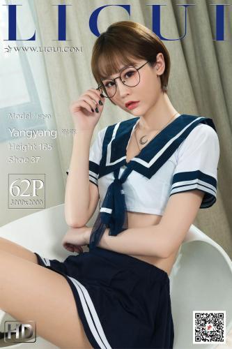 Model 洋洋《水手服眼镜妹丝足》 [丽柜LIGUI] 网络丽人 写真集
