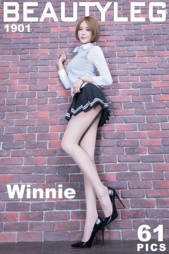 庄温妮Winnie《长腿学妹+黑丝制服》 [Beautyleg] No.1901 写真集