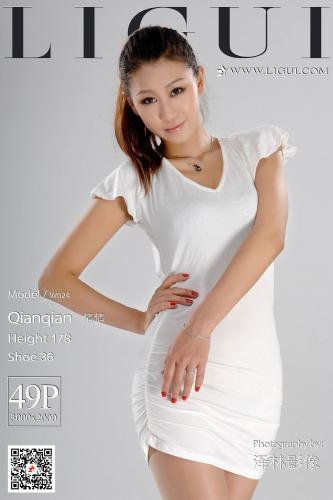 Model 倩倩《高挑长腿女郎》 [丽柜LIGUI] 网络丽人 写真集