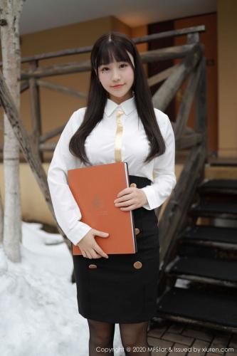 朱可儿Flower《变身酒店客房经理~》 [模范学院MFStar] Vol.267 写真集