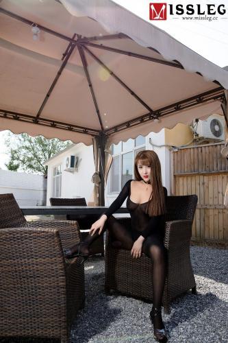 林兮《黑色魅影》 [蜜丝MISSLEG] V016 写真集