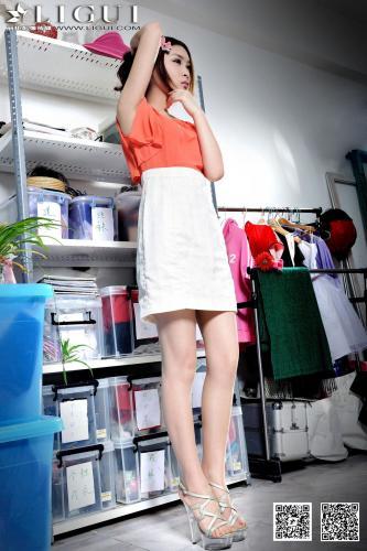Model 允儿《清纯甜美的连衣裙少女》上下全集 [丽柜LiGui] 美腿玉足写真图片