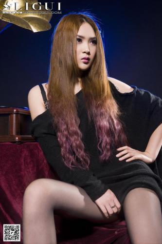 Model 允儿《极品灰丝高跟女郎》 [丽柜LiGui] 美腿玉足写真图片