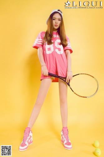 [丽柜LiGui] Model 允儿《篮球少女羽毛球运动系列》美腿玉足写真图片