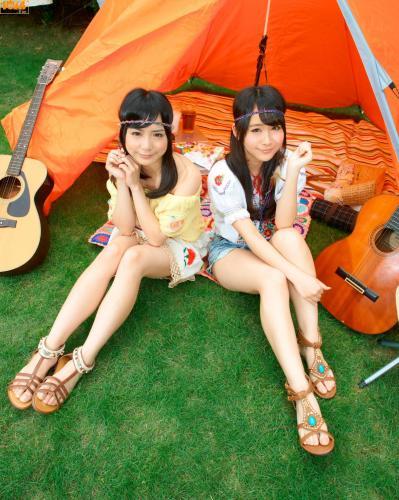 [Bomb.TV] 2012年07月号 奥仲麻琴、増井みお 写真集