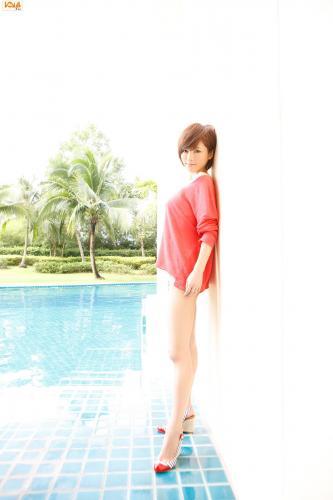 釈由美子 Yumiko Shaku 写真集 [Bomb.TV] 2012年10月号