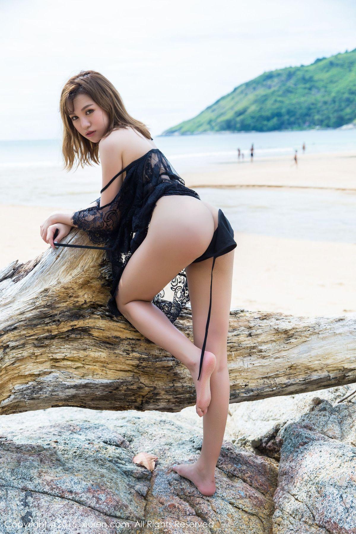 刘娅希《死库水+海边蕾丝》 [秀人网XiuRen] No.589 写真集48