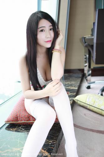 谢芷馨Sindy《白丝+翘臀诱惑》 [秀人网XiuRen] No.525 写真集