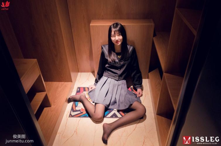 [蜜丝MISSLEG] M021 诺言 《黑丝Jk少女》 写真集
