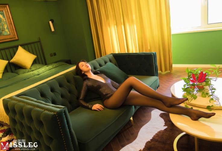 [蜜丝MISSLEG] M015 罗兰2 《黑丝魅娘》 写真集