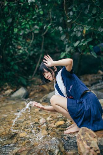 [美女Coser] 小野妹子w 《小溪》 写真集