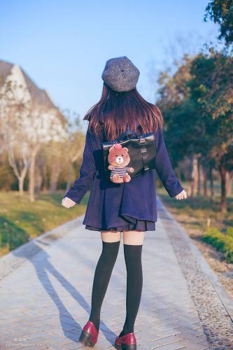 小野妹子w 《JK黑丝》 写真集