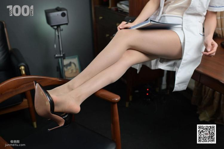 [IESS一千零一夜] 模特:Lucy《美女医生1》 肉丝袜美腿写真集