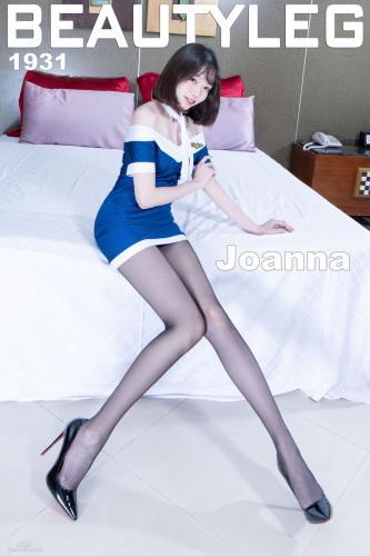 [Beautyleg] No.1931 腿模Joanna《黑丝制服+肉丝短裙美腿》 写真集