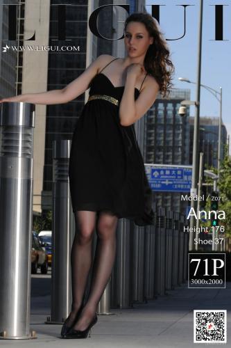 [丽柜Ligui] Anna 《街拍高跟》 写真集