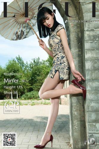 [丽柜Ligui] Model 敏儿 《肉丝旗袍女郎》 写真集