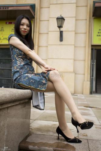 [思话SiHua] SH144 小俏 - 旗袍下的肉色丝袜