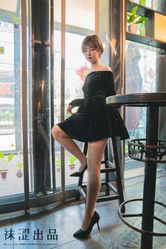 [袜涩] VOL.056 暖暖 - 黑色小礼服