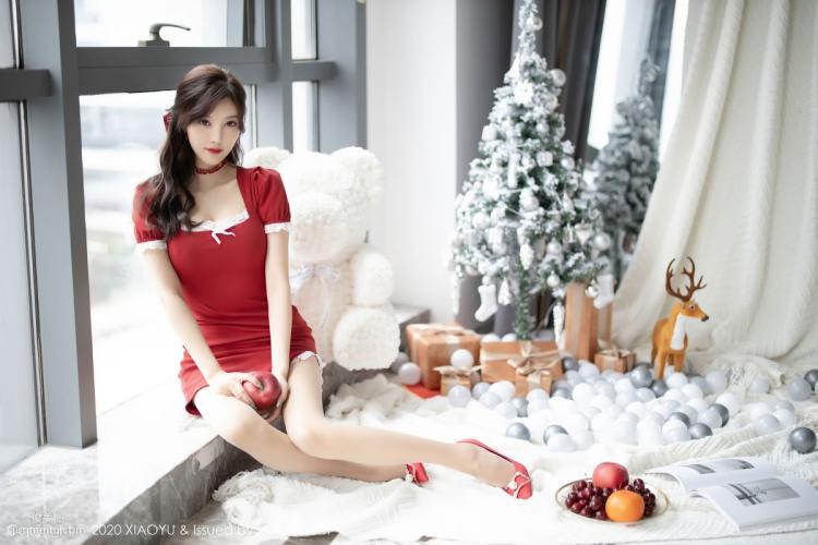 [语画界XIAOYU] Vol.438 杨晨晨sugar - 圣诞主题写真