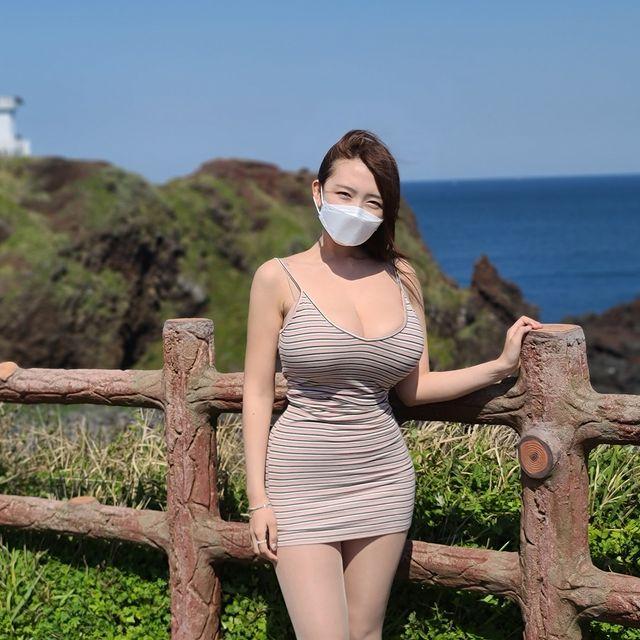 好惊人的风景!《韩国欧派美女旅行Vlog》