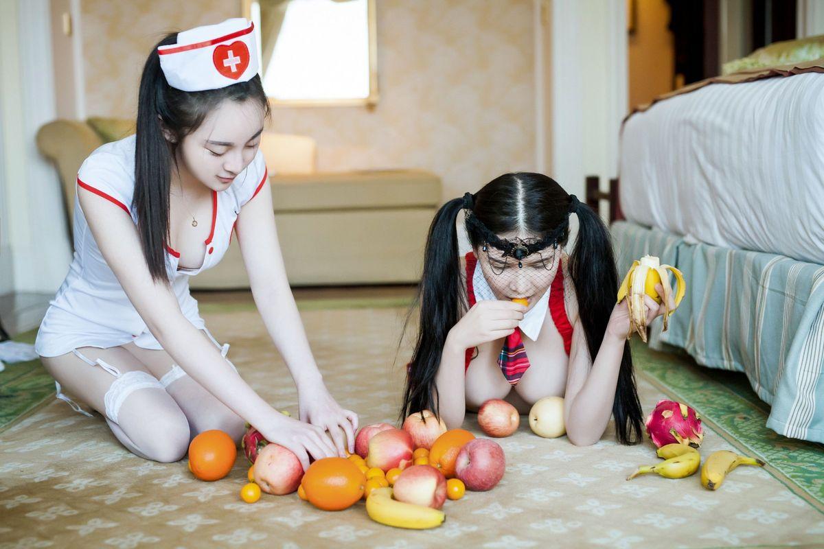 李丽莎-[Tuigirl推女郎] 月刊影像 第72期 护士姐妹花_0