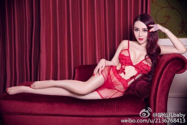 胡仙儿- 嫩模微博私房写真