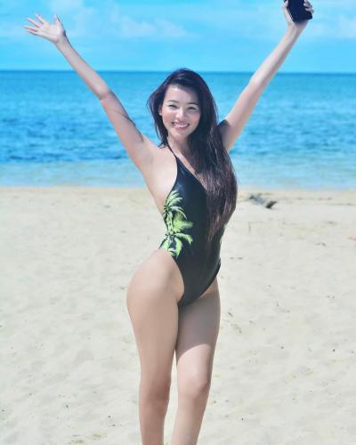 菲律宾美人Sunshine Guimary 杜拜帆船酒店大秀浑圆美胸
