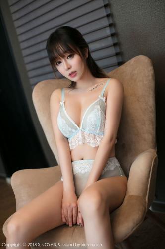 王雨纯的蕾丝吊袜 性感的镂空内衣