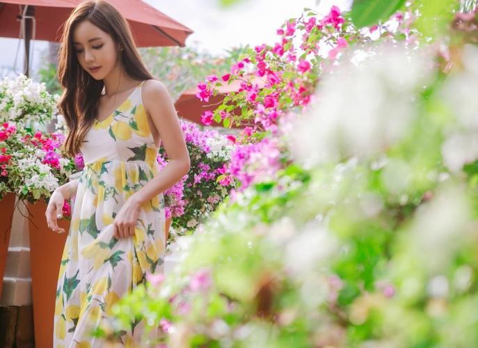 孙允珠- 2017年布吉岛外拍之长裙系列七
