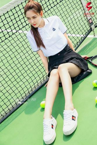 [TouTiao头条女神] 2019.07.13 我是网球美少女 莎伦