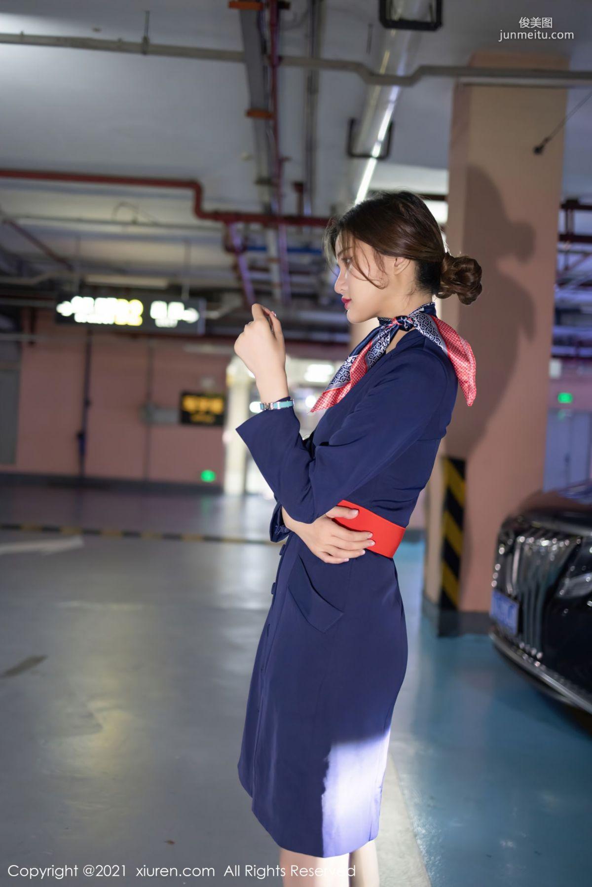 职业空姐文芮jeninfer 曼妙婀娜的苗条身段