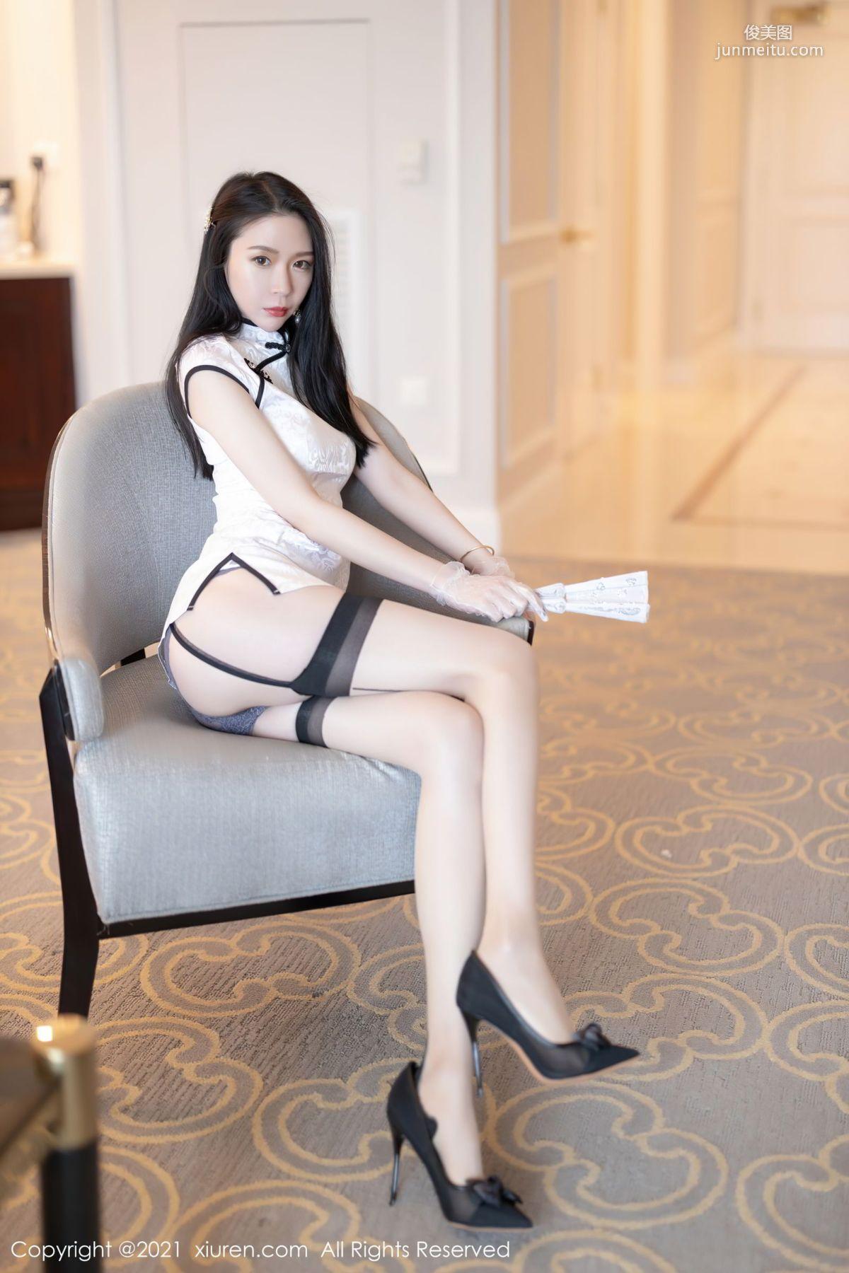 旗袍美女梦心月 古典浪漫的气质
